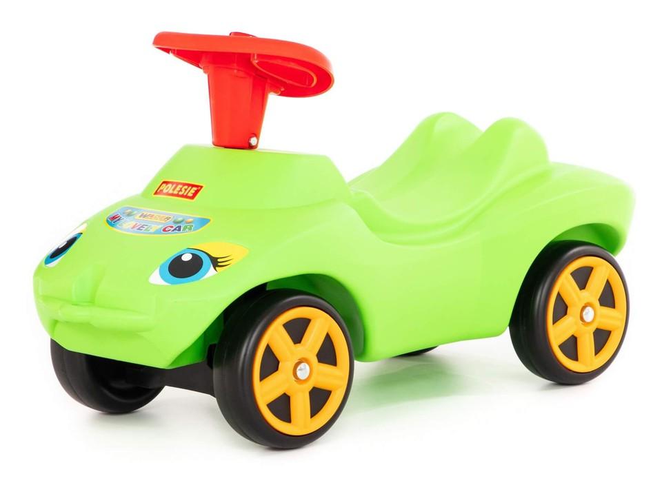Odrážadlo auto My Lovely Car zelené so zvukom