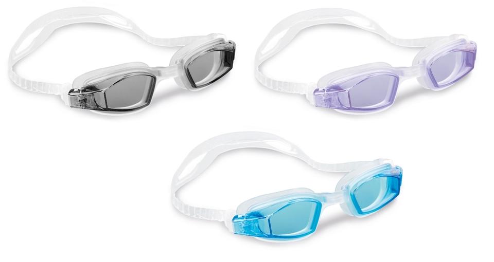 Intex 55682 Freestyle Sport Športové plavecké okuliare - čierna
