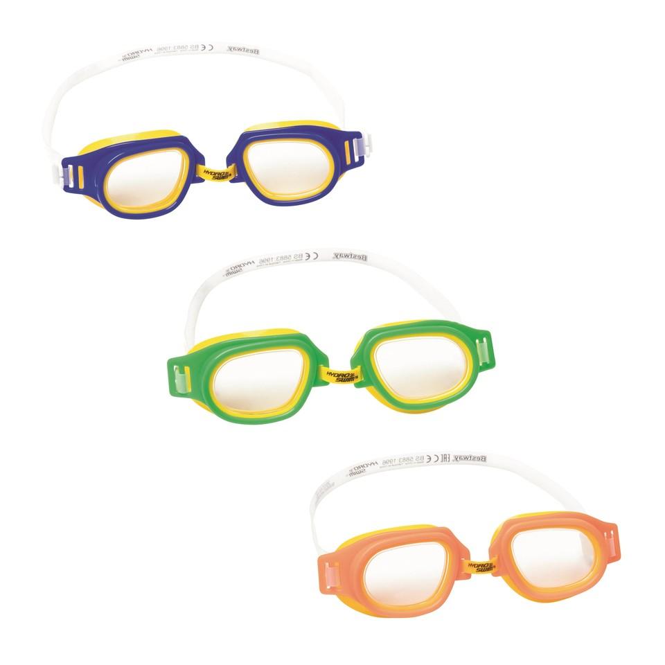 Bestway 21003 Okuliare plavecké Champ 3 farby - oranžová