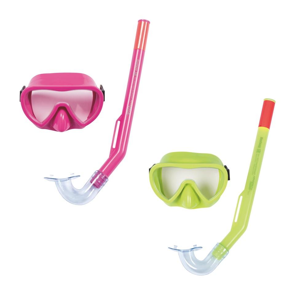 Bestway 24036 detský potápačský set Essential - zelená