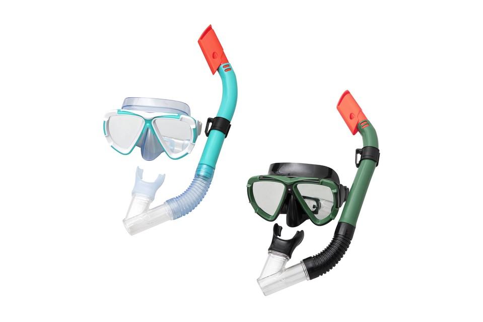 Bestway 24053 Okuliare potápačské a snorchel Dive Mira - zelená