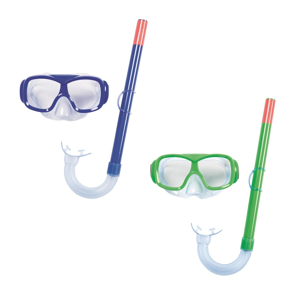 Bestway Okuliare potápačské a snorchel Essential Freestyle - zelená