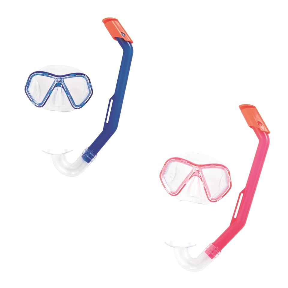 Bestway 24023 okuliare potápačské a snorchel Lil Glider 2farby - ružová