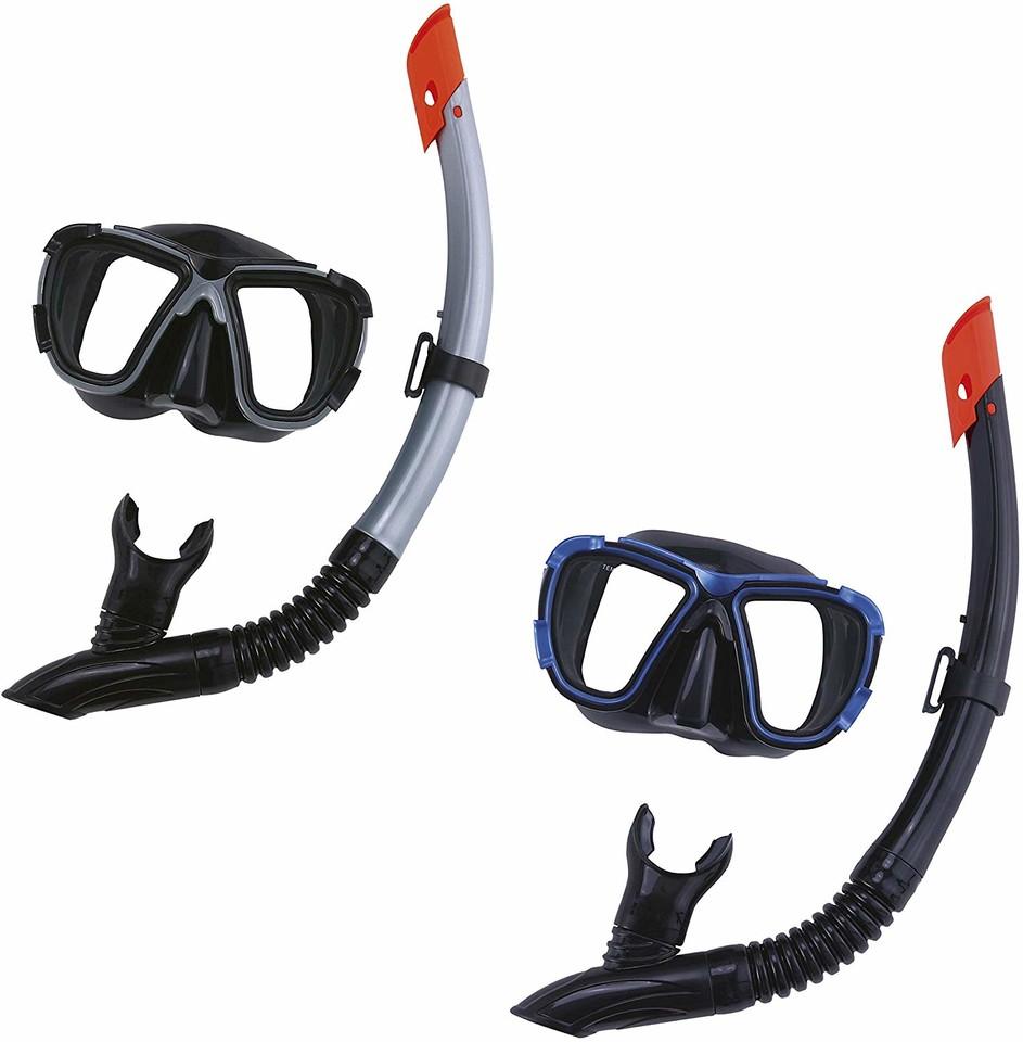 Bestway 24021 Potápačské okuliare + šnorchel Hydro Pro - modrá