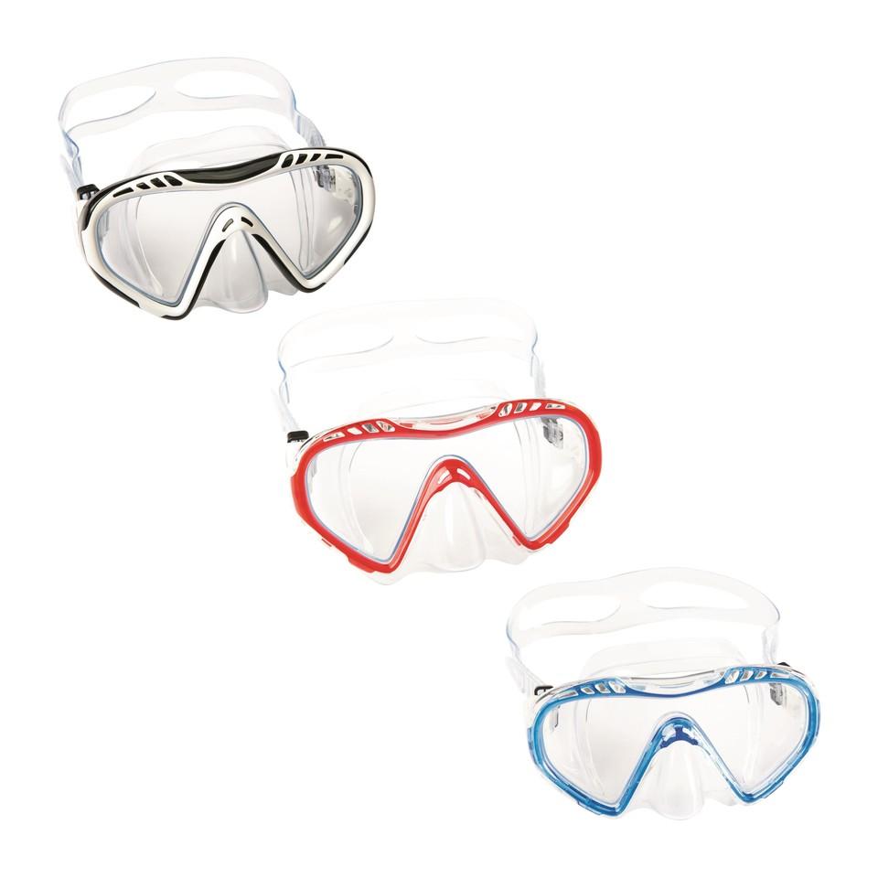 Bestway 22050 Okuliare potápačske Clear Sea 3farby - čierno–biela