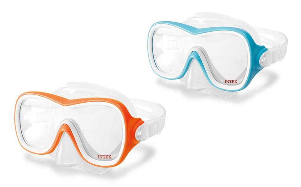 Intex 55978 Potápačské okuliare Wave Rider - oranžová