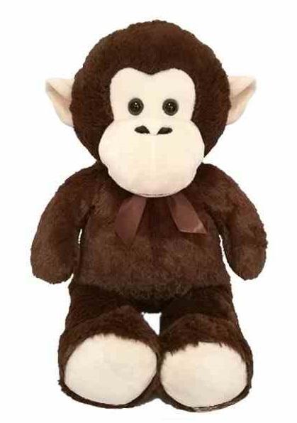 Plyšová opica 80cm