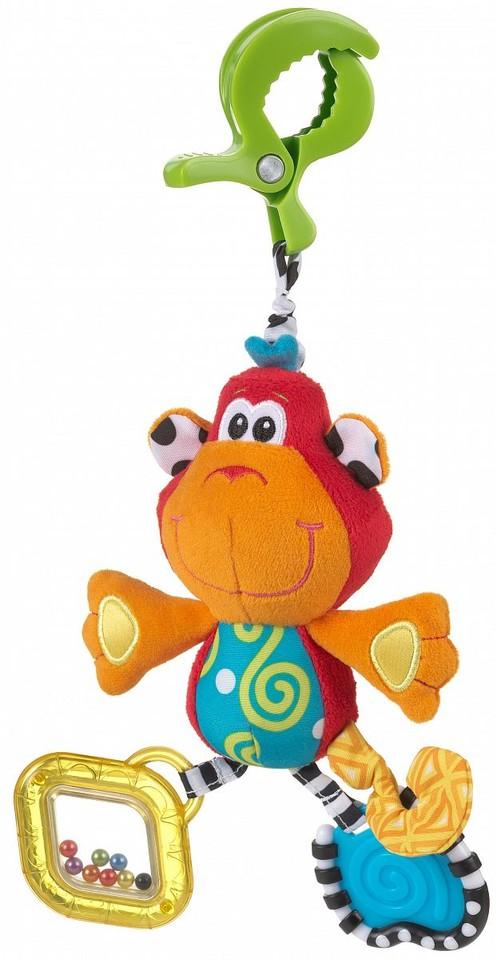 Playgro Závesná opička s klipom