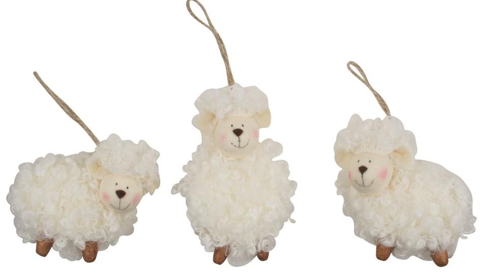 Veľkonočná ovečka na zavesenie 7cm