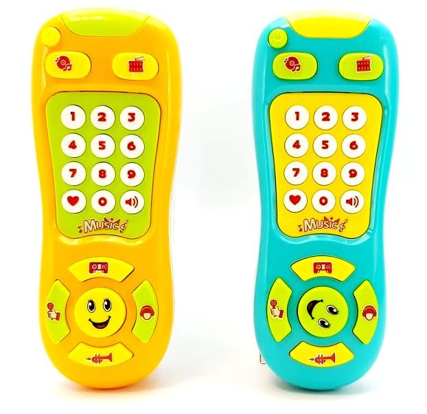 Detský ovládač s efektami 16cm - náhodná