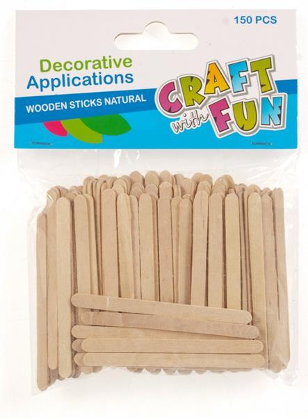 Paličky drevené 150ks