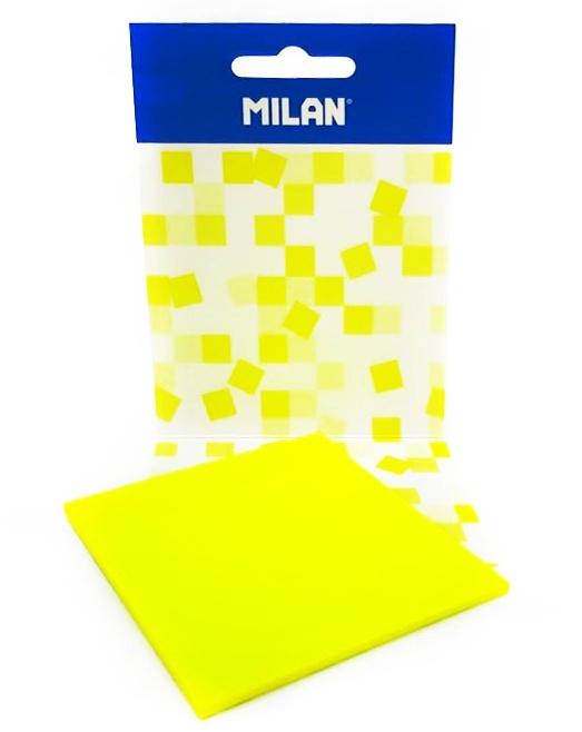 Žlté lepiace papieriky transparentné 7,5cm