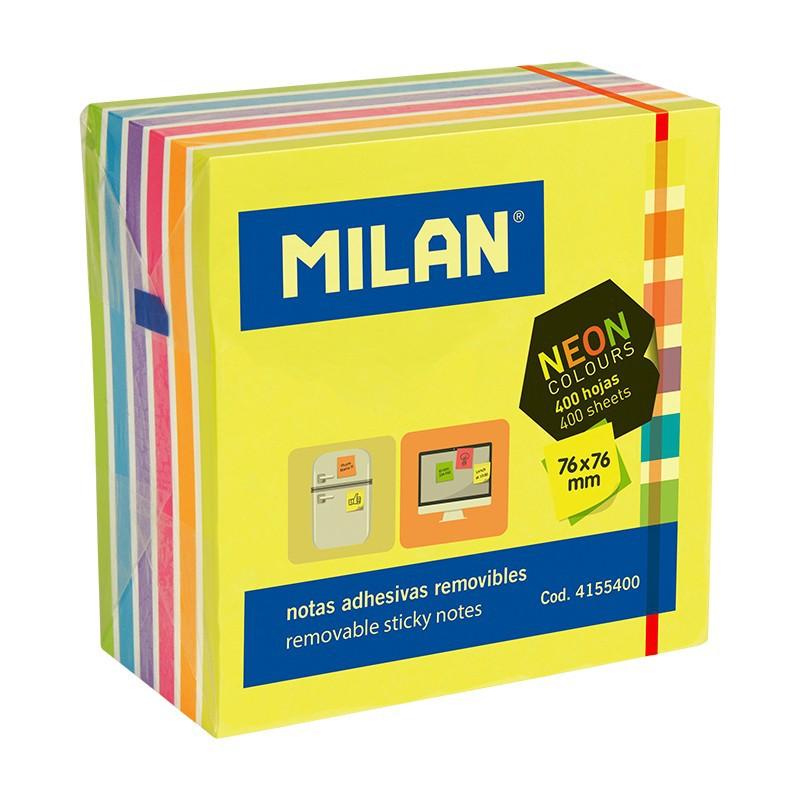 Milan Papieriky lepiace 400 listové