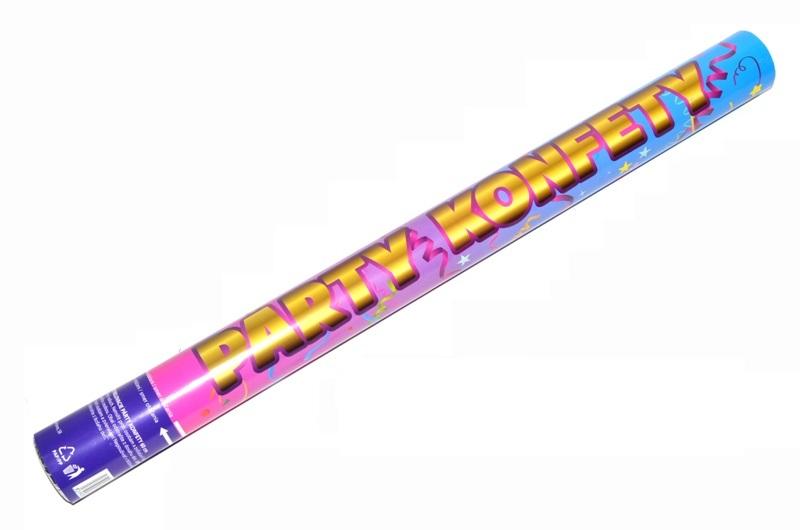 Párty konfety vystrelovacie 60cm