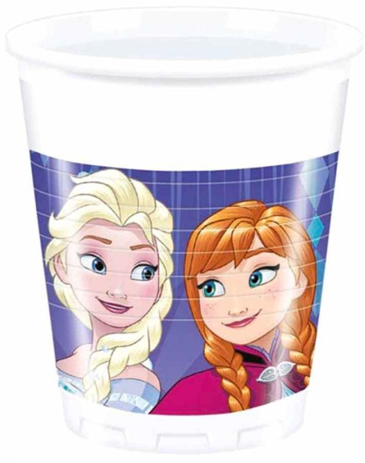 Poháre Frozen 200ml 8ks