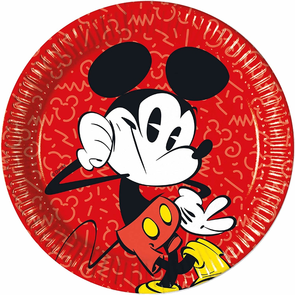 Taniere Mickey Super Cool 23cm 8ks