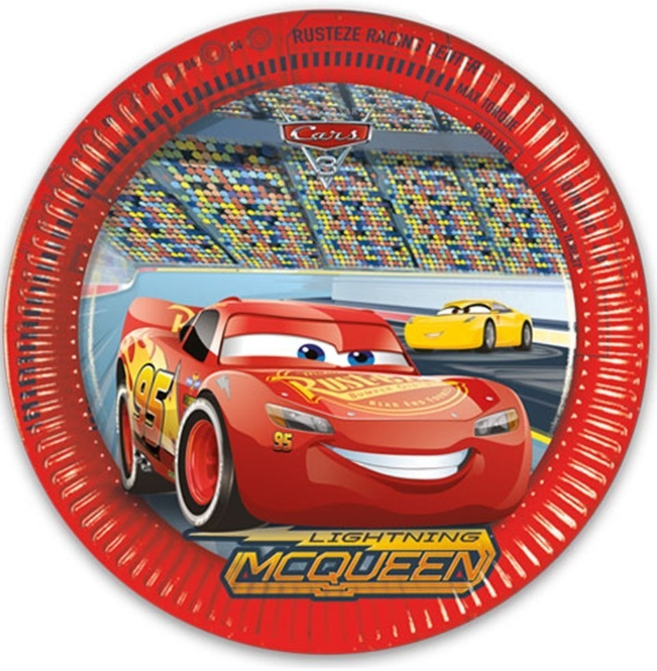 Taniere Disney Cars 3, 23cm 8ks