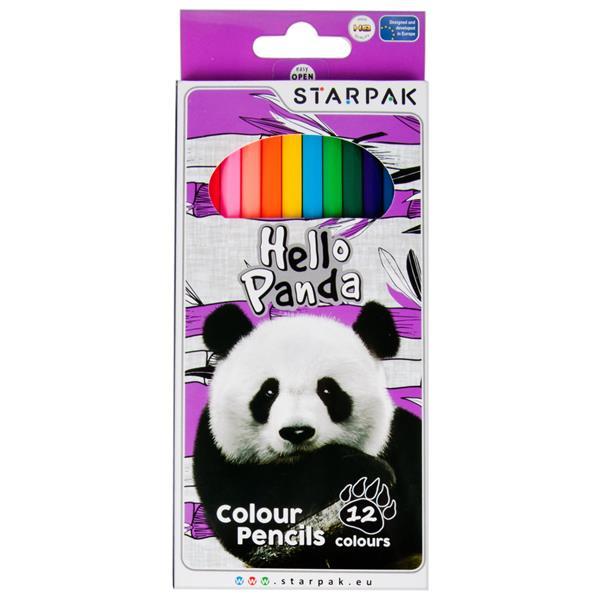 Pastelky Panda 12ks