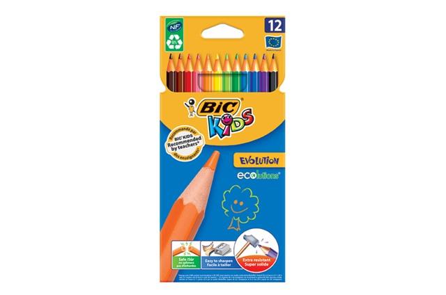 Farebné ceruzky 12 ks