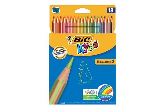 Farebné ceruzky 18 ks