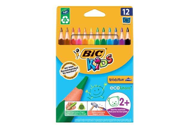 Farebné ceruzky eco, 12ks