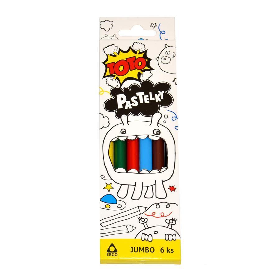 Pastelky Jumbo 6ks