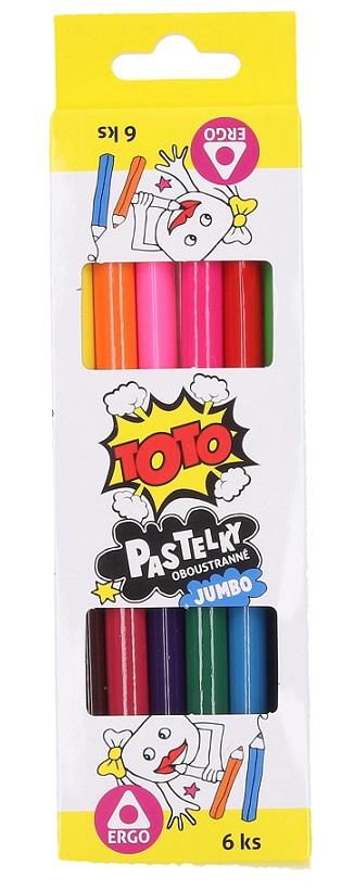 Farebné ceruzky Jumbo 6ks