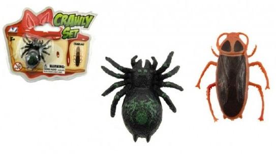 Pavúk/Šváb lezúci po skle 3,5cm - šváb
