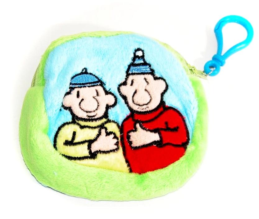 Peňaženka Pat a Mat - plyšová