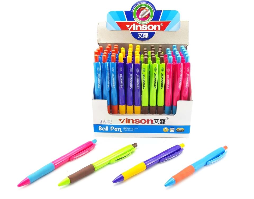 Guľôčkové pero Vinson - fialová