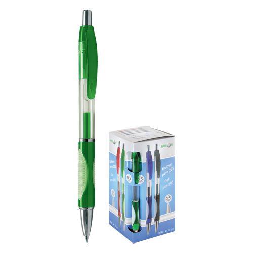 Pero gélové 205A zelené