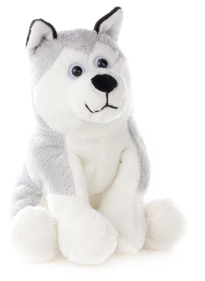 Pes Husky plyšový 14cm