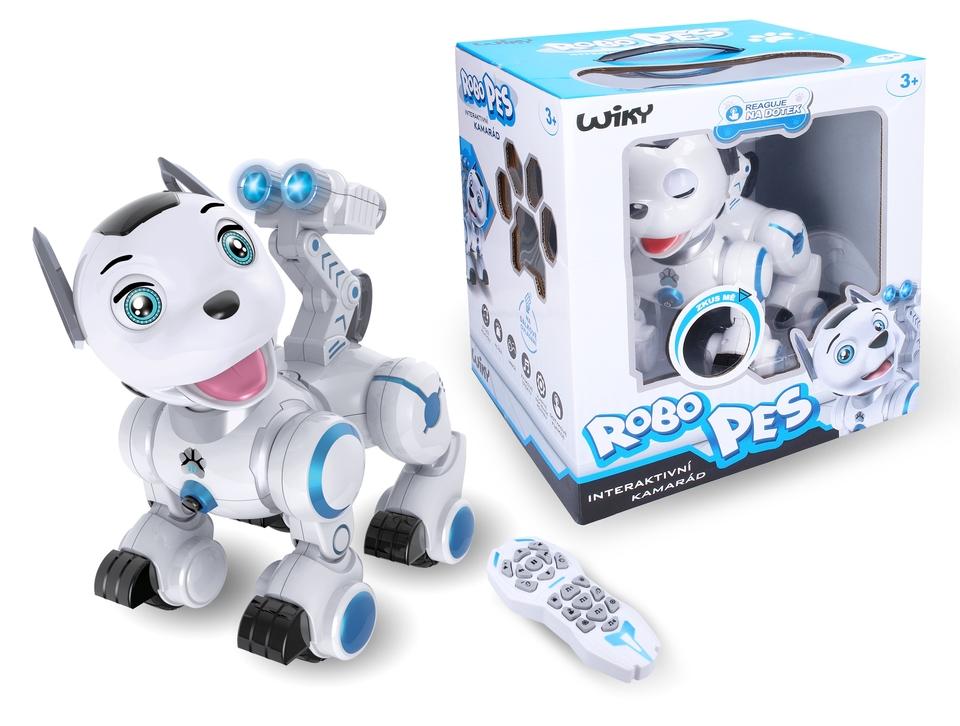 Pes Robo interaktívny kamarát 23cm