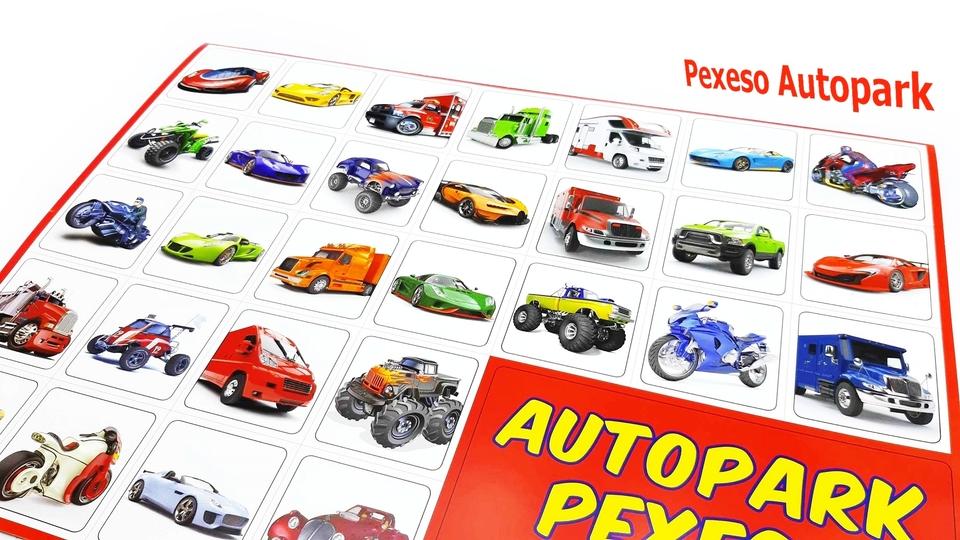 Pexeso Autopark 32dvojic