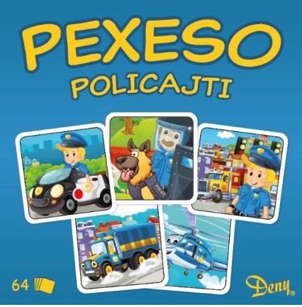 Pexeso policajti v krabičke