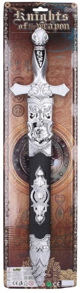 Meč s púzdrom karnevalový doplnok 53cm