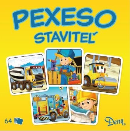 Pexeso staviteľ v krabičke