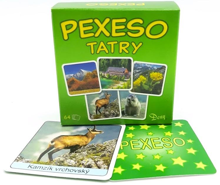 Pexeso Tatry 64ks