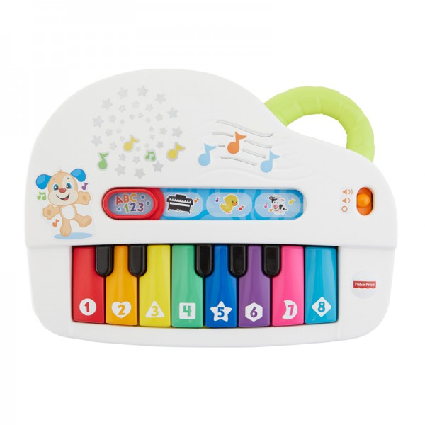 Fisher Price Hudobné piano so svetlami