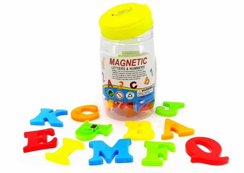 Magnetické písmená 26ks