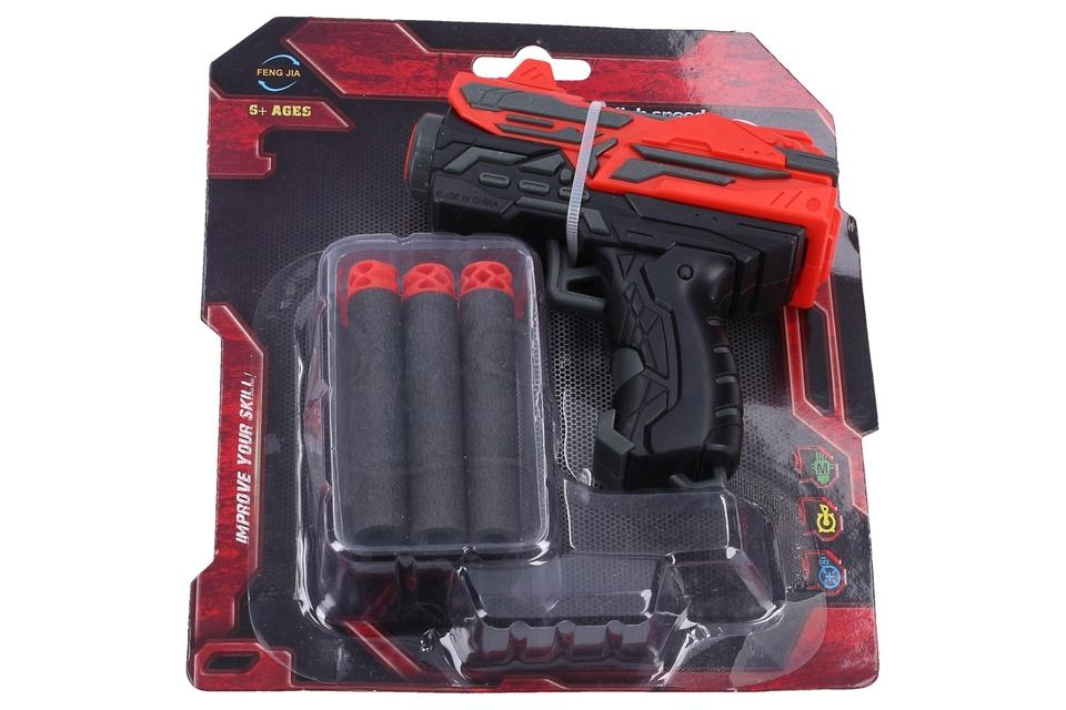 Pištoľ 11cm + 6 nábojov