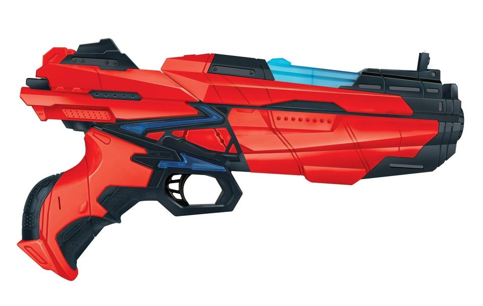 Pištoľ 28cm + 6 nábojov