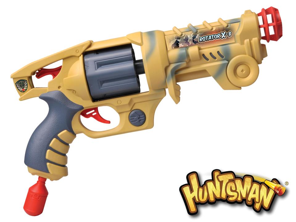 Pištoľ Huntsman s 8 nábojmi