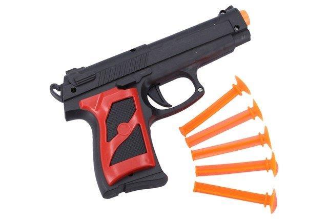 Pištoľ s prísavkami