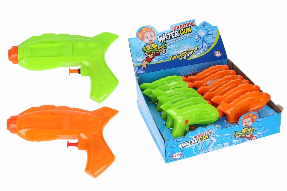 Vodná pištoľ 16cm - oranžová