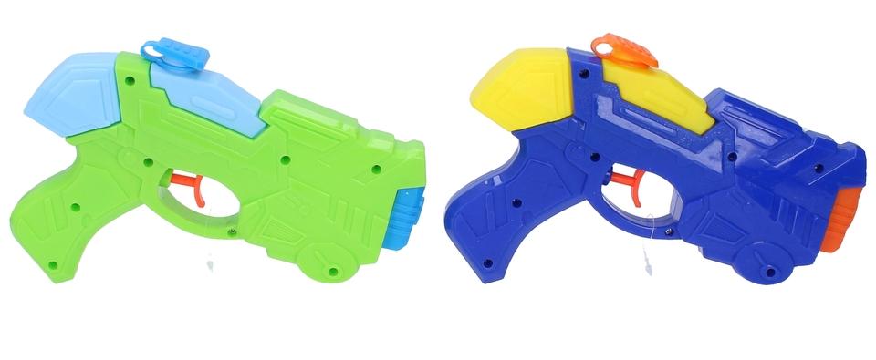 Vodná pištoľ 20cm - modrá