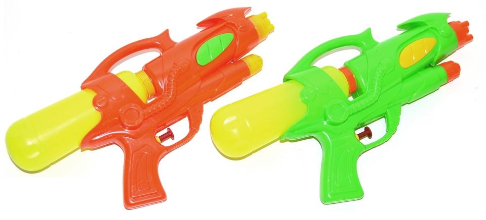 Pištol vodná 29cm - zelená