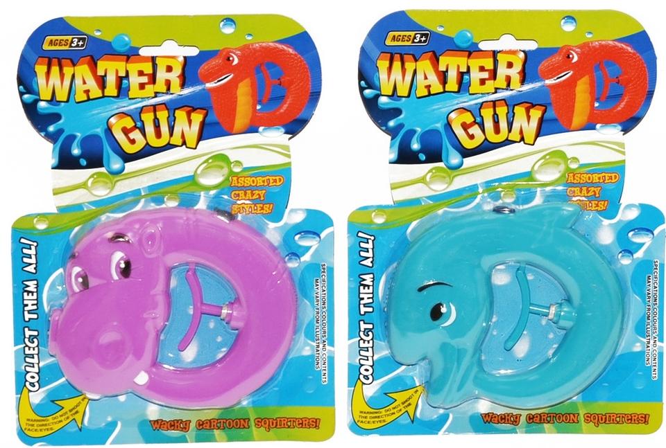 Pištoľ vodná zvieratká 12cm - dino