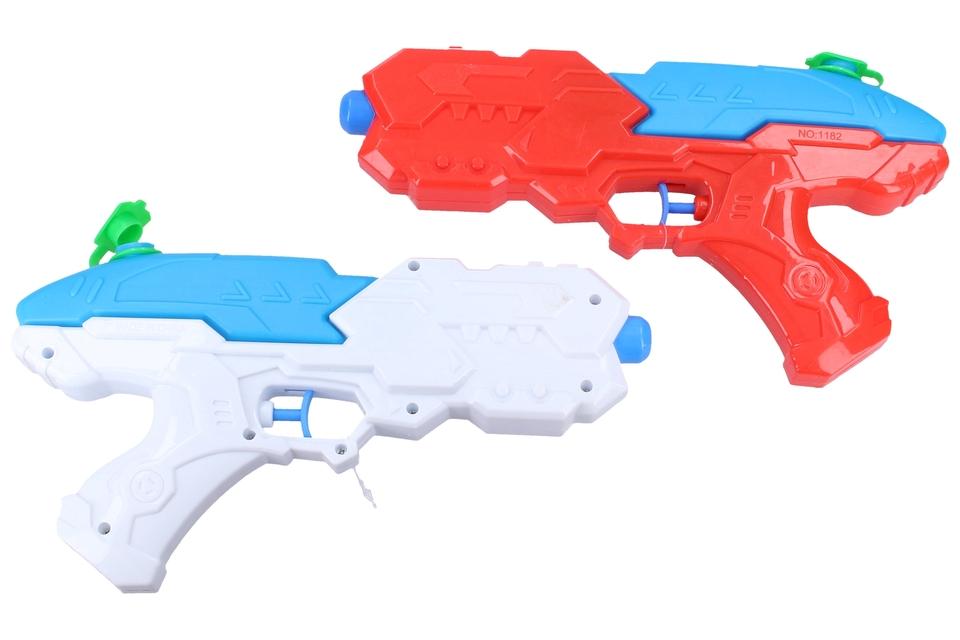 Vodná pistoľ 25cm - červená
