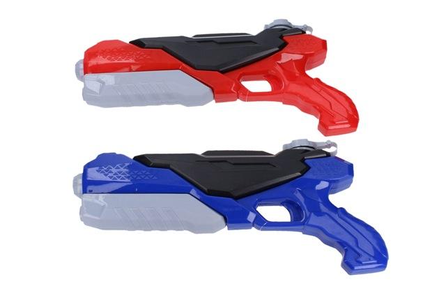 Pištoľ vodná 40cm - červená